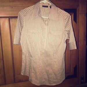 New York & Co. short sleeve button-up